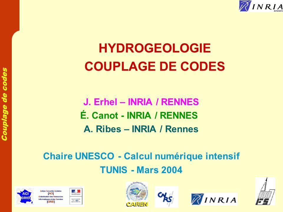 Chaire UNESCO - Calcul numérique intensif