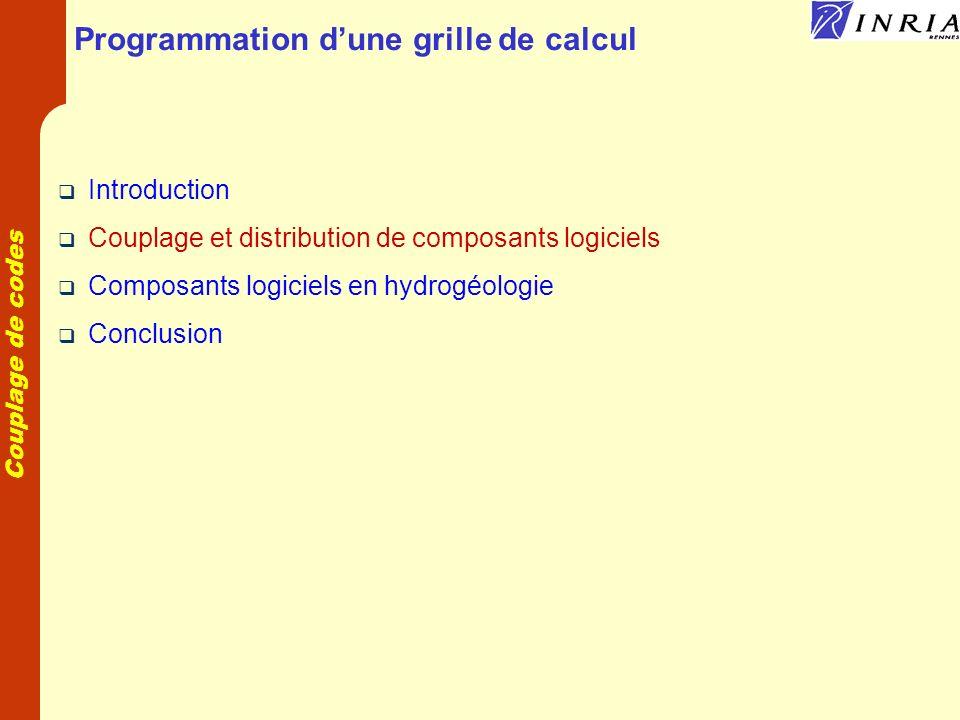 Programmation d'une grille de calcul