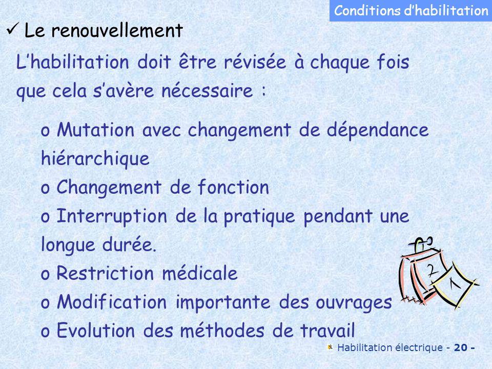 Mutation avec changement de dépendance hiérarchique