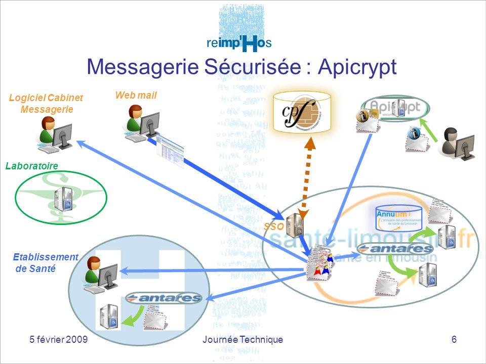 Messagerie Sécurisée : Apicrypt