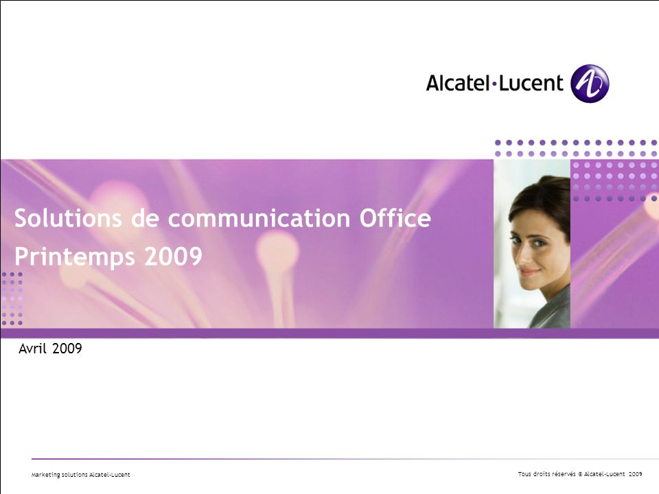 Solutions de communication Office Printemps 2009