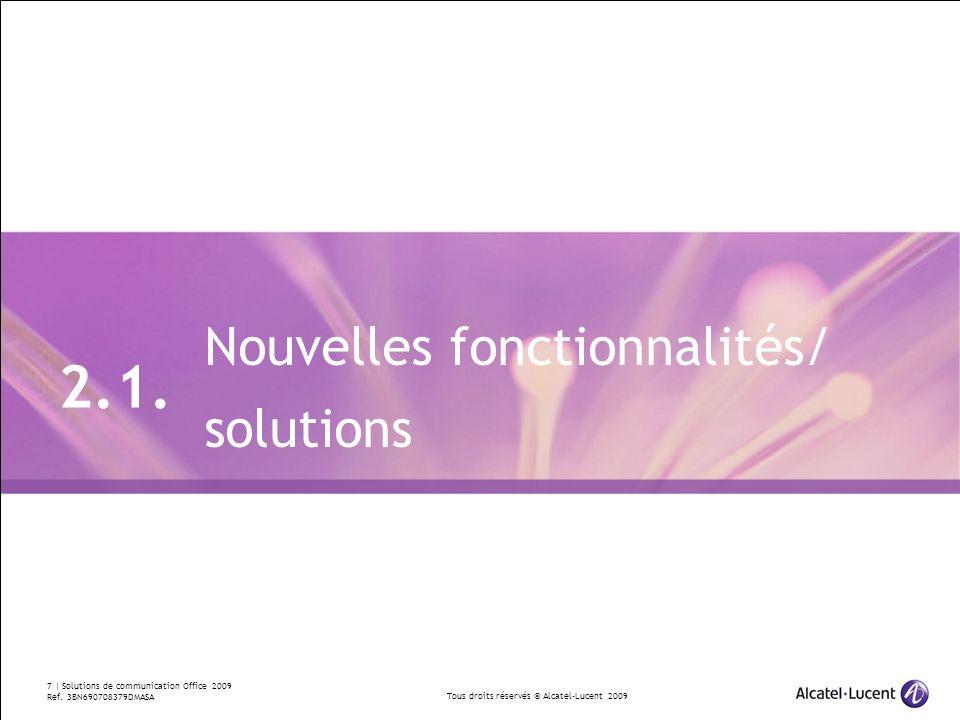 2.1. Nouvelles fonctionnalités/ solutions Divider Section Break Pages