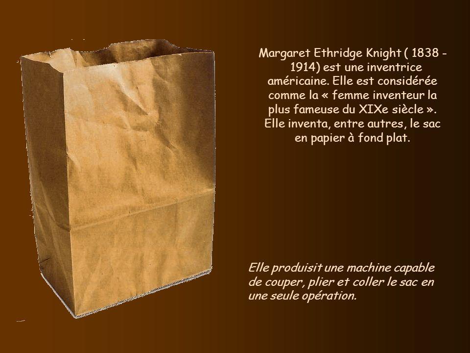 Margaret Ethridge Knight ( 1838 - 1914) est une inventrice américaine