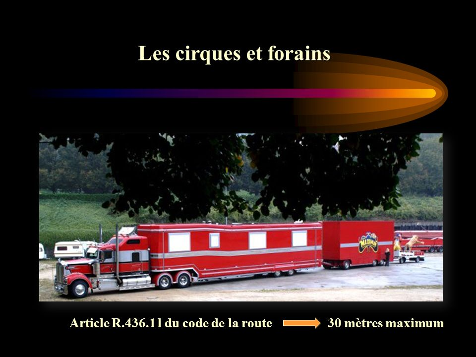 Article R.436.1 l du code de la route 30 mètres maximum