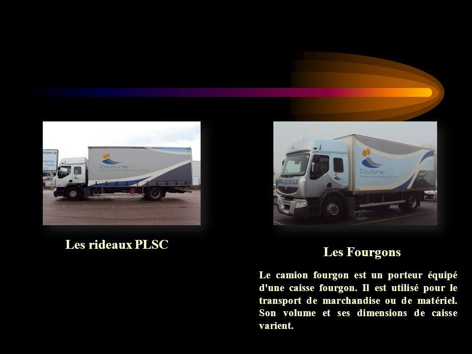 Les rideaux PLSC Les Fourgons