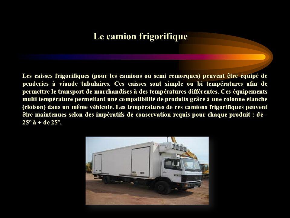 Le camion frigorifique