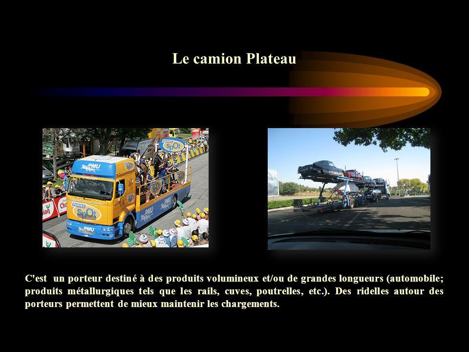 Le camion Plateau