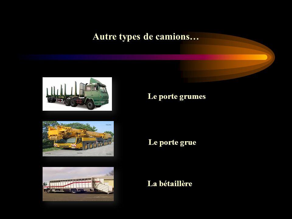 Autre types de camions…