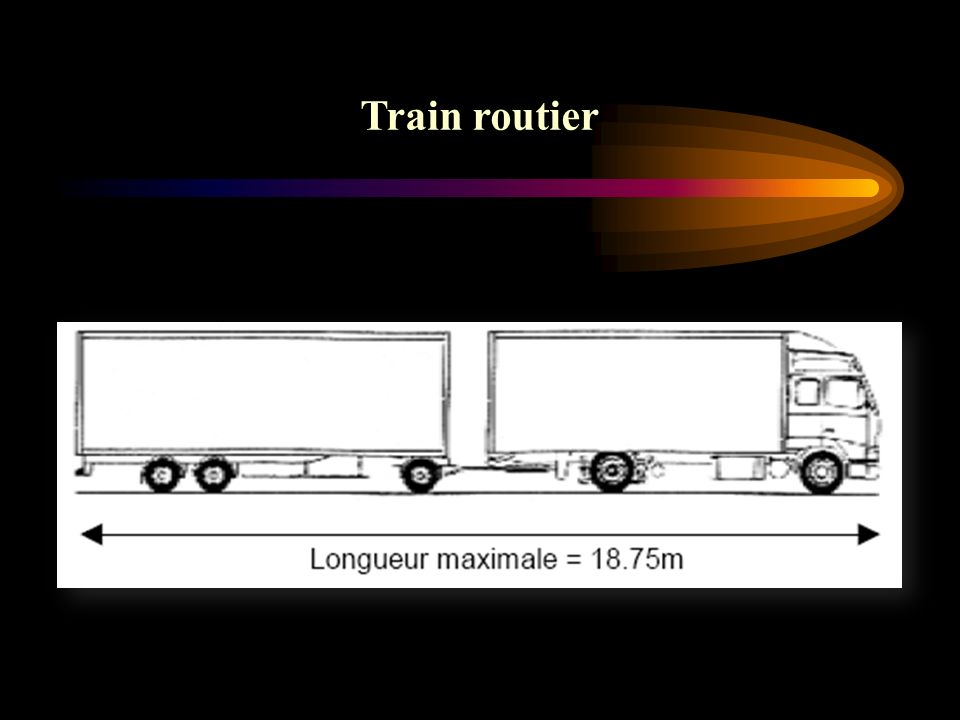 Train routier