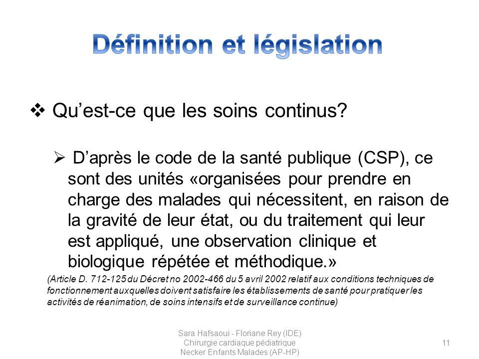 Définition et législation