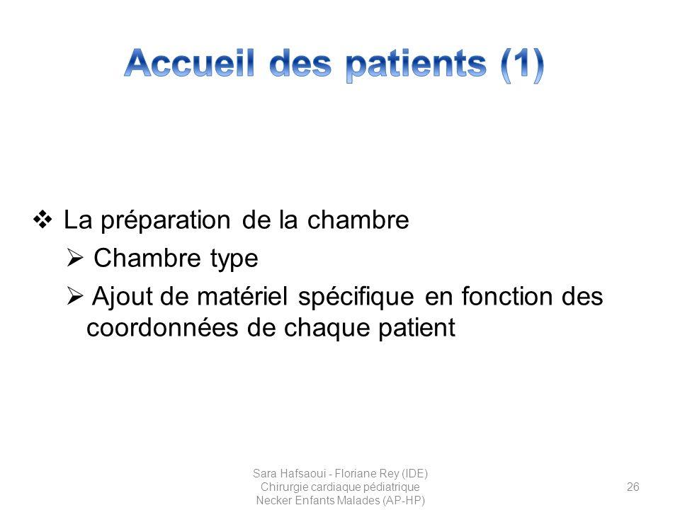 Accueil des patients (1)