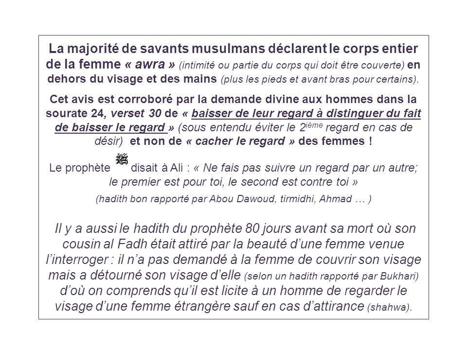 (hadith bon rapporté par Abou Dawoud, tirmidhi, Ahmad … )