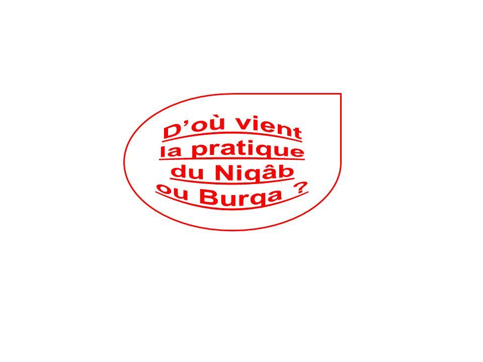 D'où vient la pratique du Niqâb ou Burqa