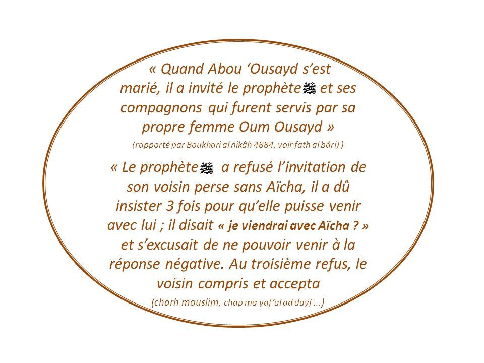 « Quand Abou 'Ousayd s'est