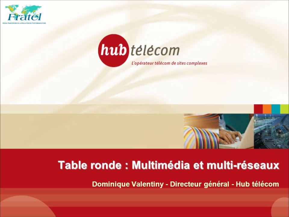 Table ronde : Multimédia et multi-réseaux