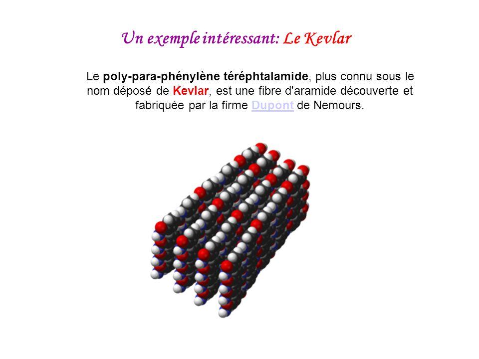 Un exemple intéressant: Le Kevlar