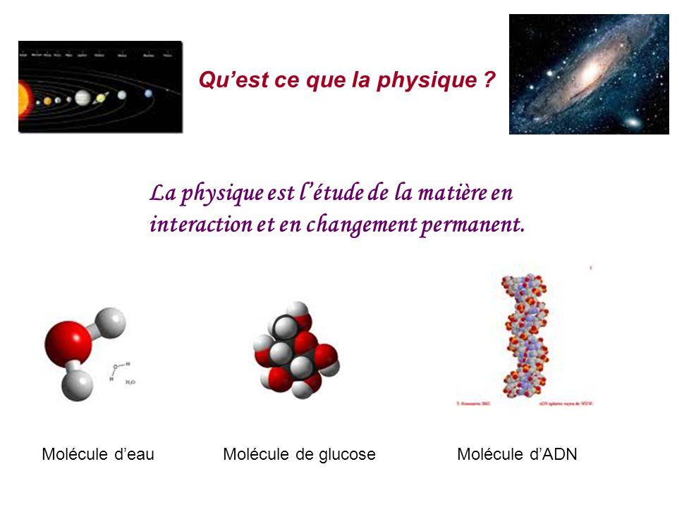 Qu'est ce que la physique