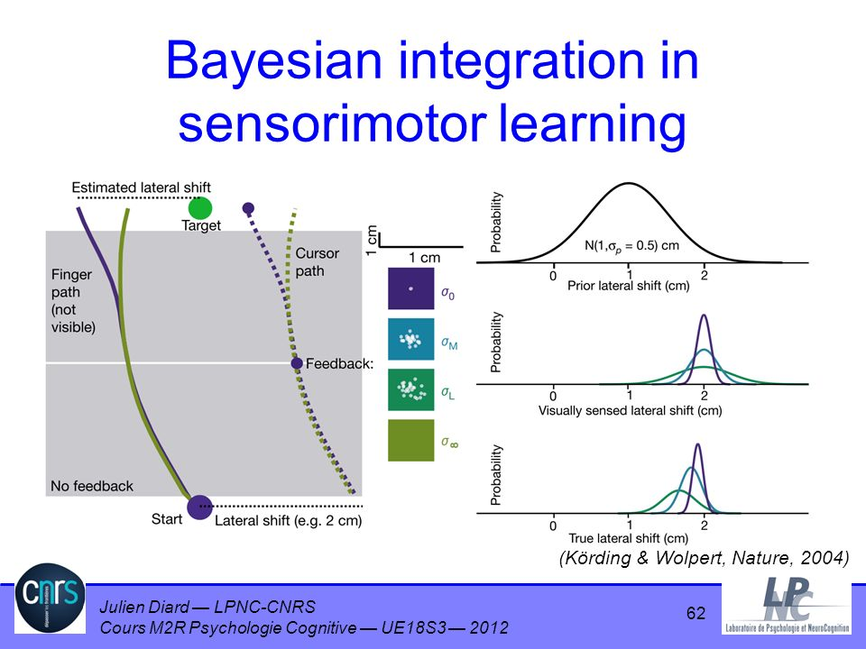 Bayesian integration in sensorimotor learning