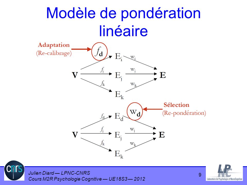 Modèle de pondération linéaire