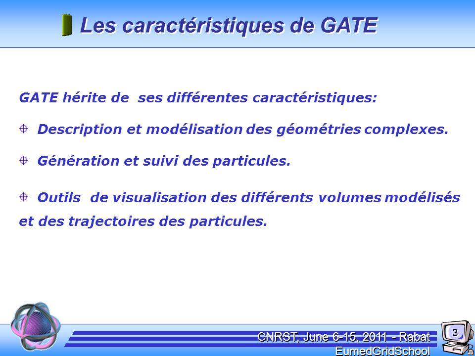 Les logiciels associés a GATE