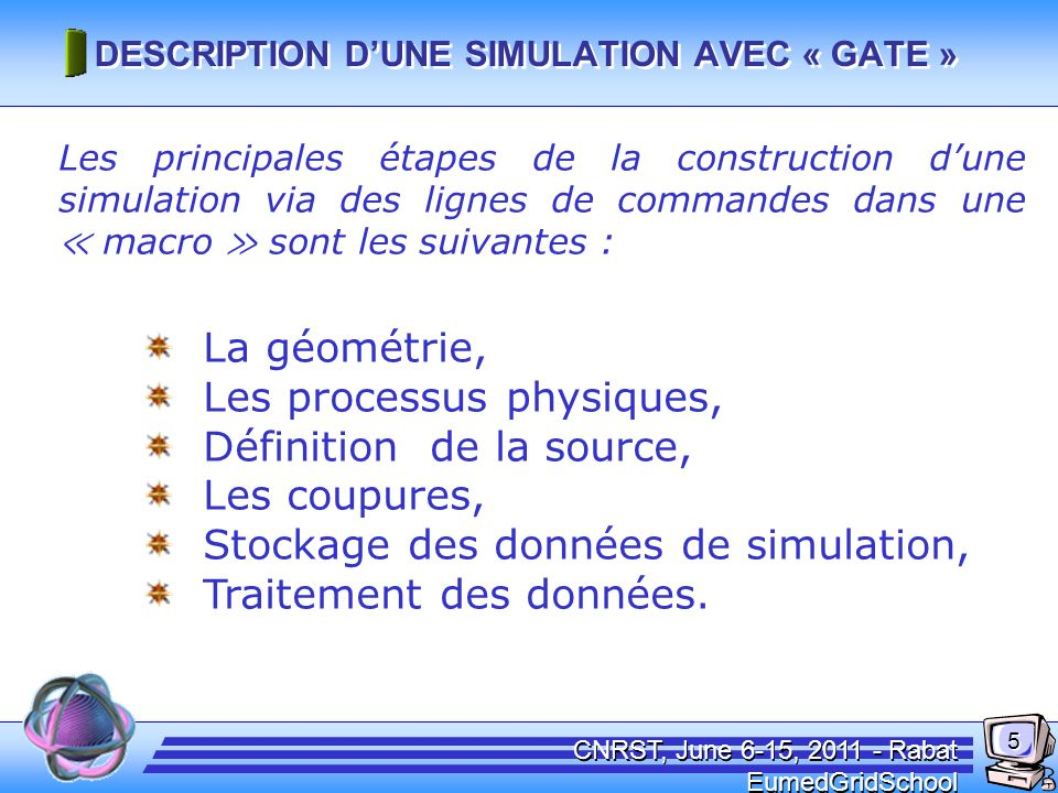 Conditions de Simulation