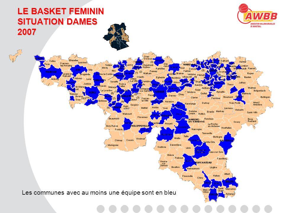 LE BASKET FEMININ SITUATION JEUNES 2007