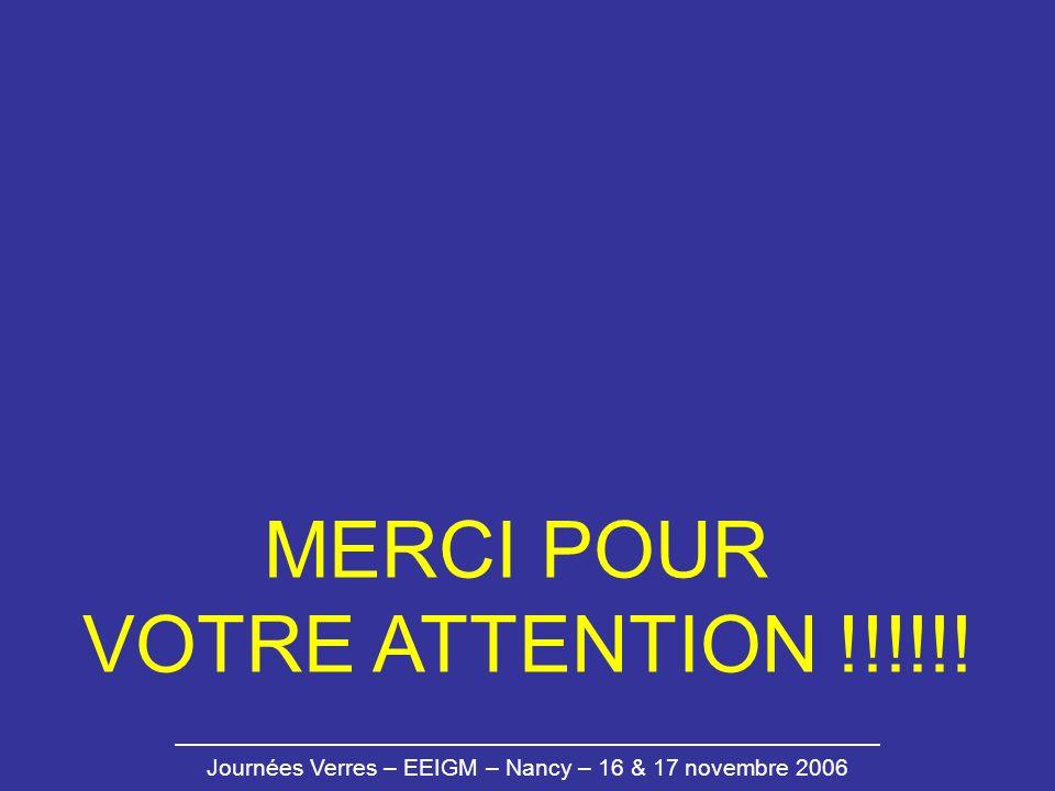 MERCI POUR VOTRE ATTENTION !!!!!!