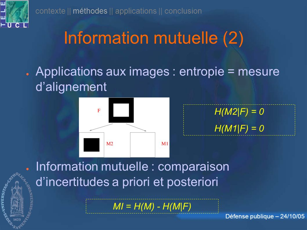 Information mutuelle (2)