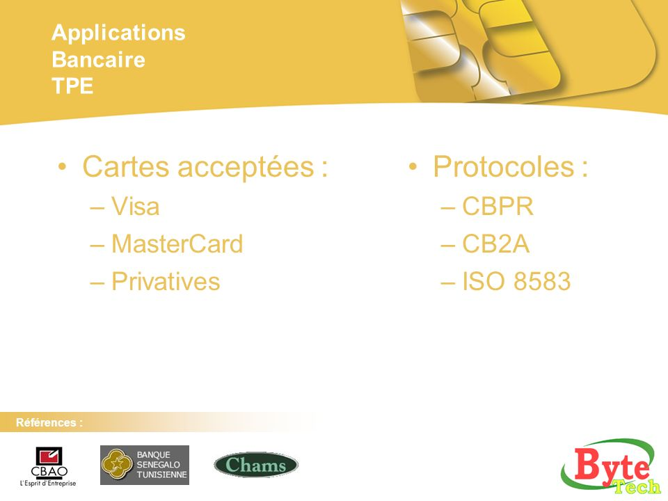 Applications Bancaire TPE