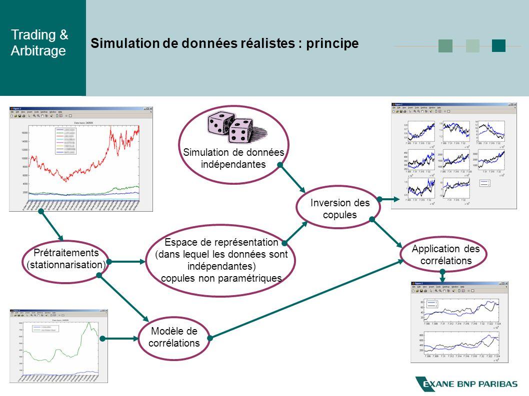 Simulation de données réalistes : principe