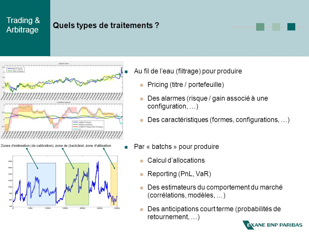 Quels types de traitements