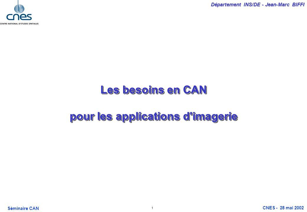 Les besoins en CAN pour les applications d imagerie