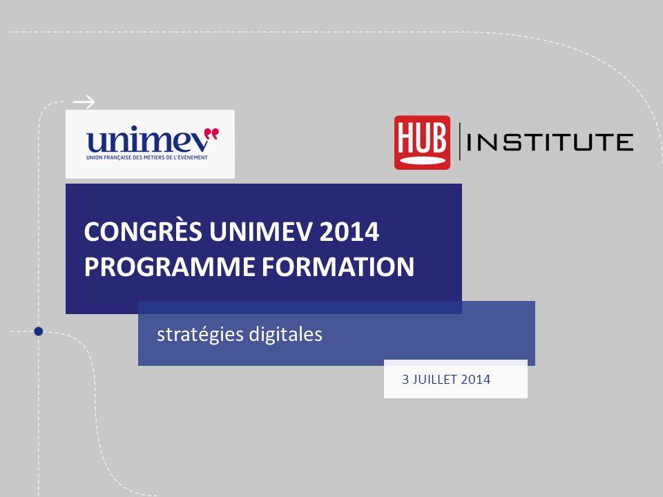 Congrès unimev 2014 programme formation