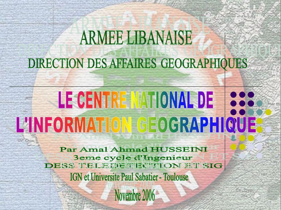 L INFORMATION GEOGRAPHIQUE