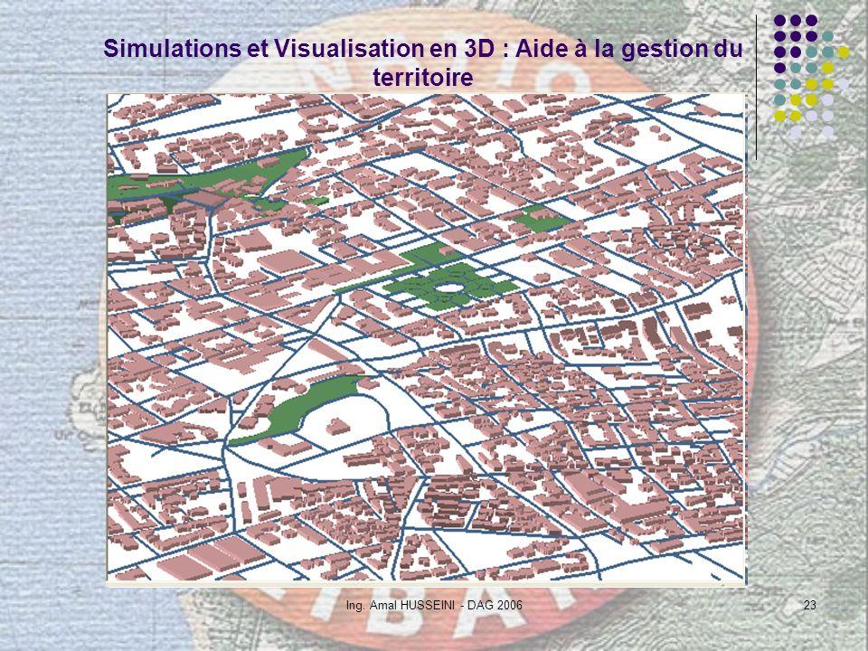 Simulations et Visualisation en 3D : Aide à la gestion du territoire