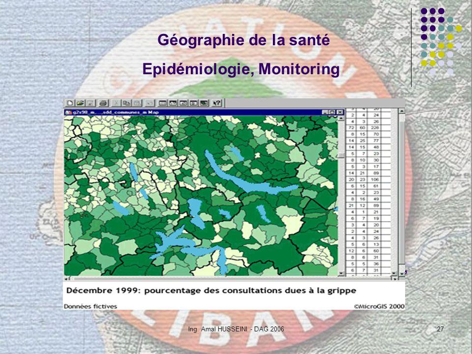 Epidémiologie, Monitoring