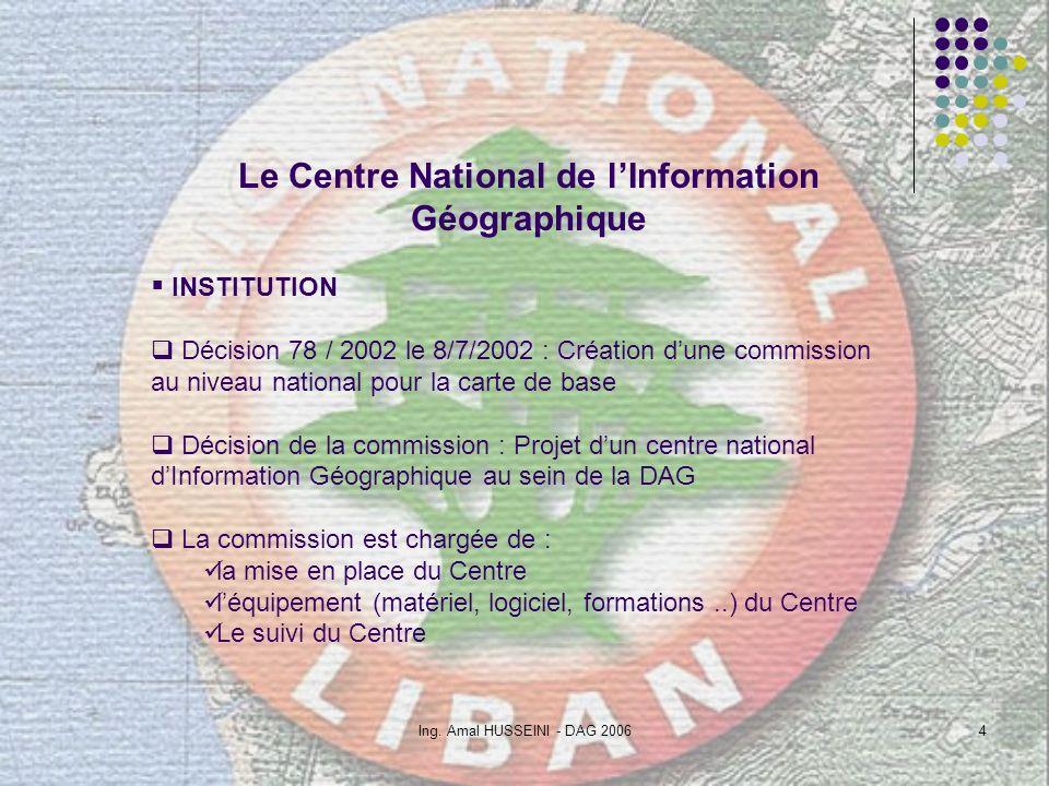 Le Centre National de l'Information Géographique