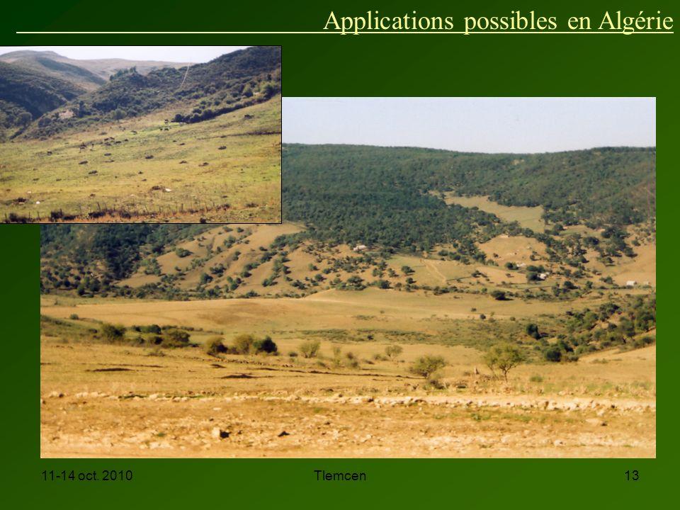Applications possibles en Algérie