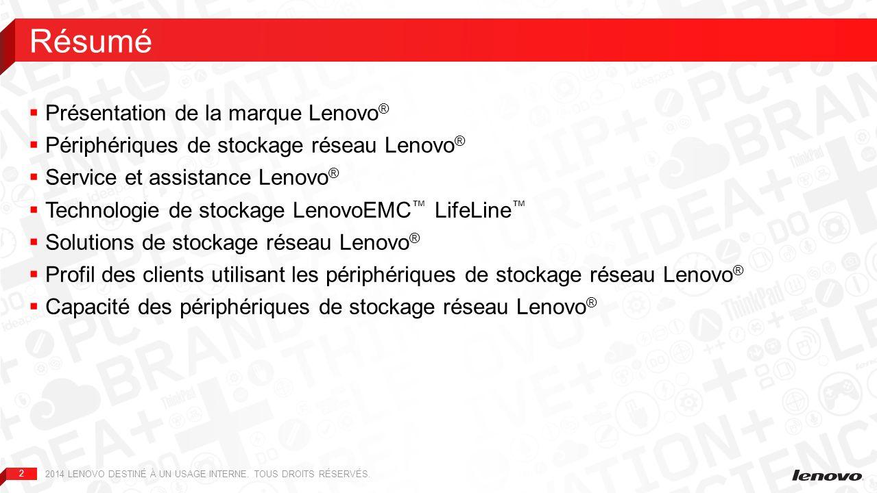 Résumé Présentation de la marque Lenovo®