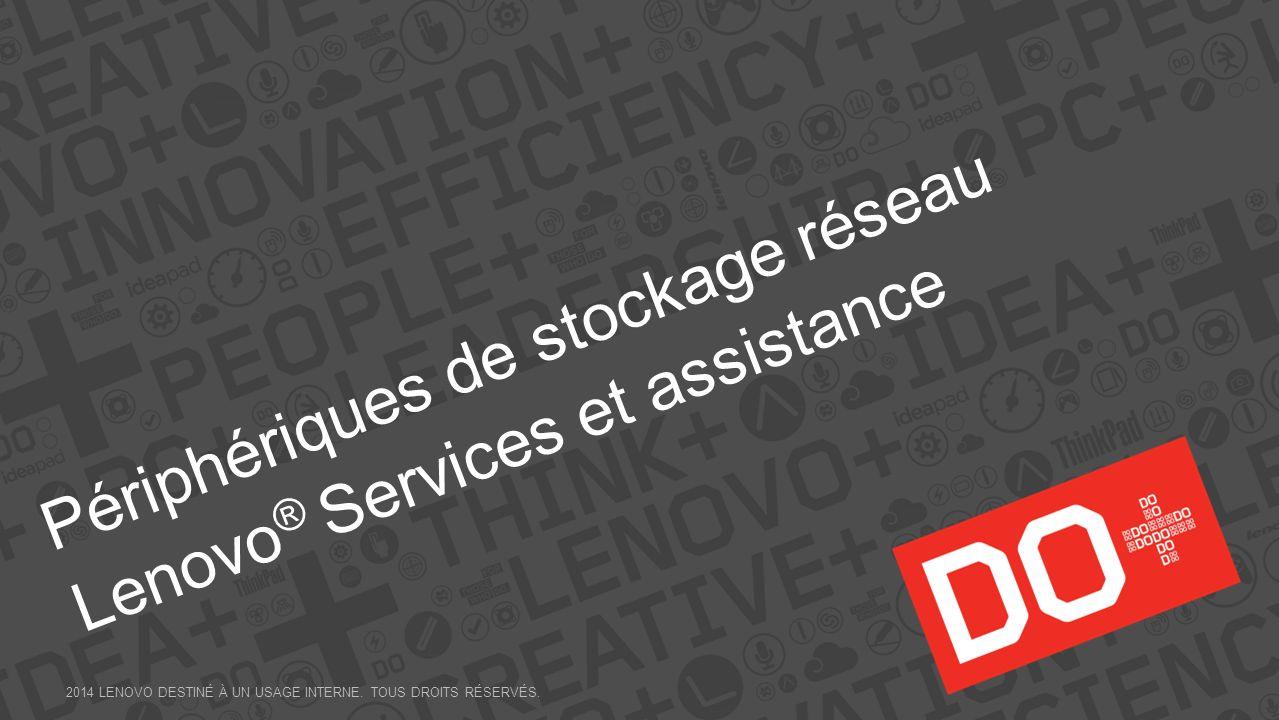 Périphériques de stockage réseau Lenovo® Services et assistance
