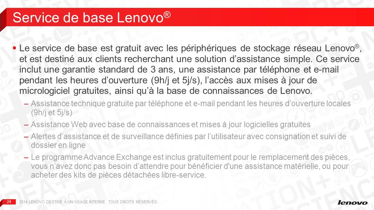 Service de base Lenovo®