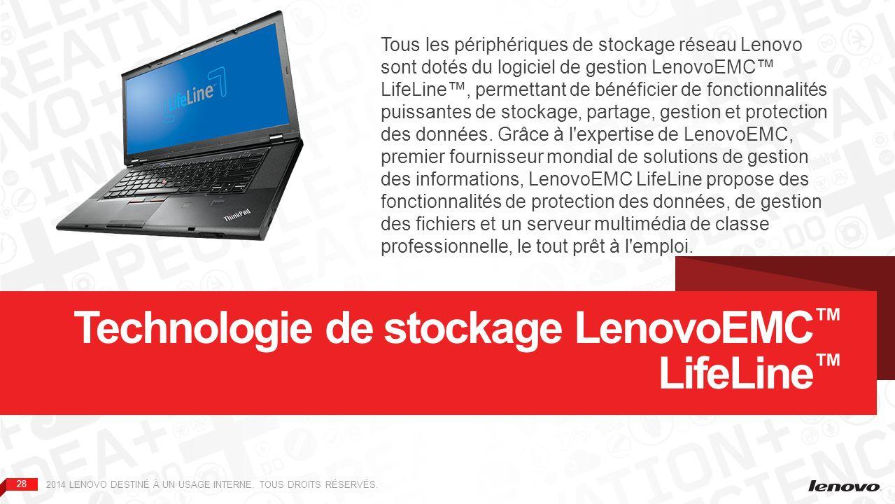 Technologie de stockage LenovoEMC™ LifeLine™
