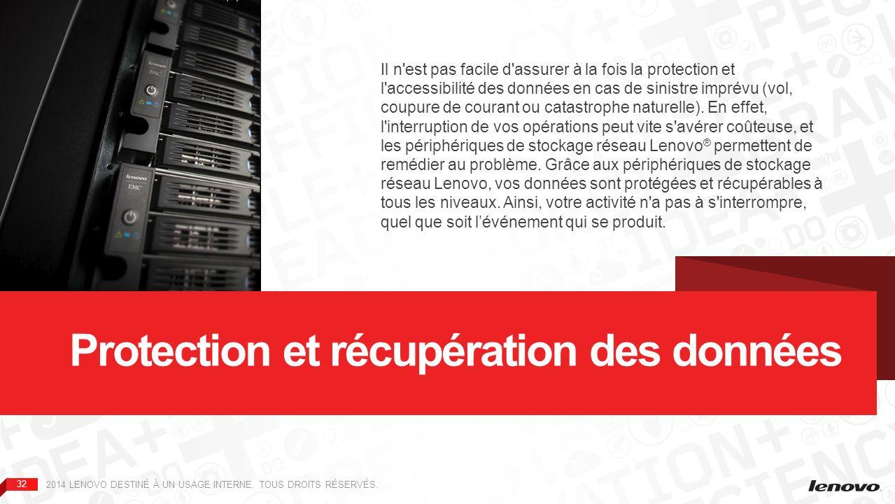Protection et récupération des données