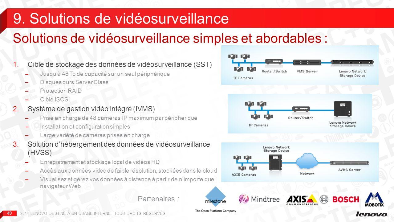9. Solutions de vidéosurveillance