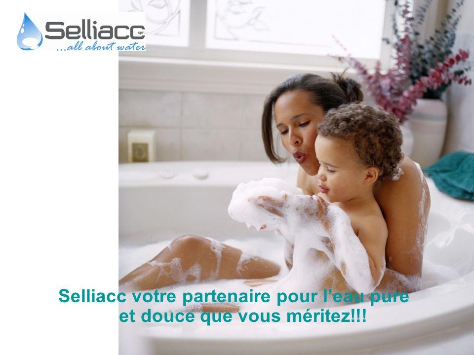 Selliacc votre partenaire pour l'eau pure et douce que vous méritez!!!