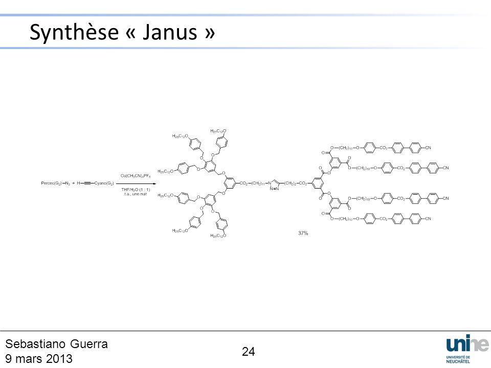 Synthèse « Janus » 24 Sebastiano Guerra 9 mars 2013