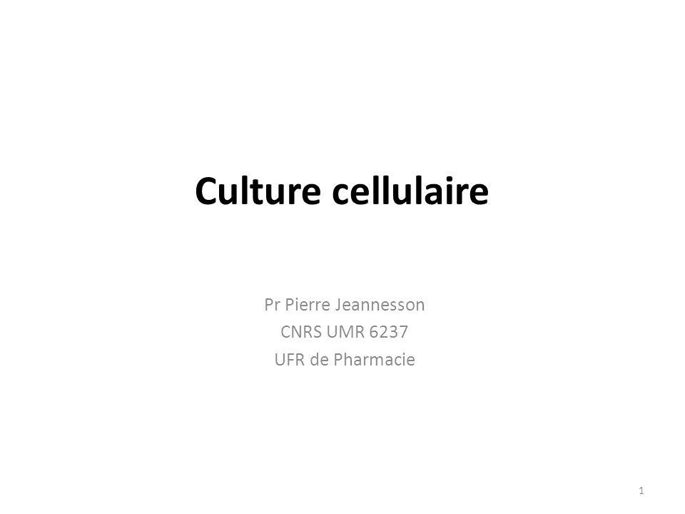 Pr Pierre Jeannesson CNRS UMR 6237 UFR de Pharmacie