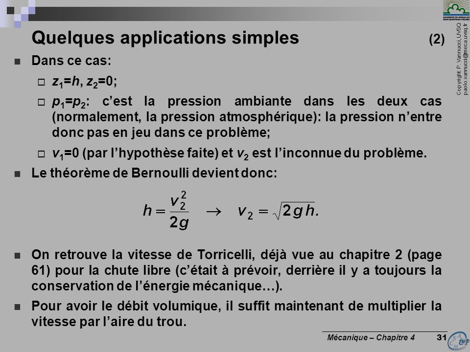 Quelques applications simples (2)