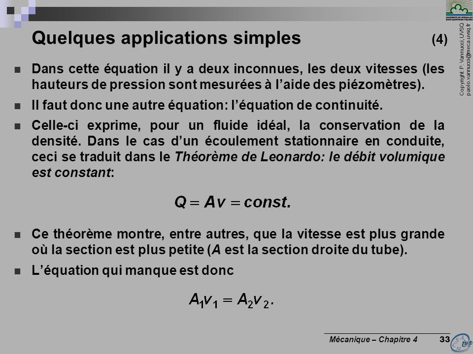 Quelques applications simples (4)