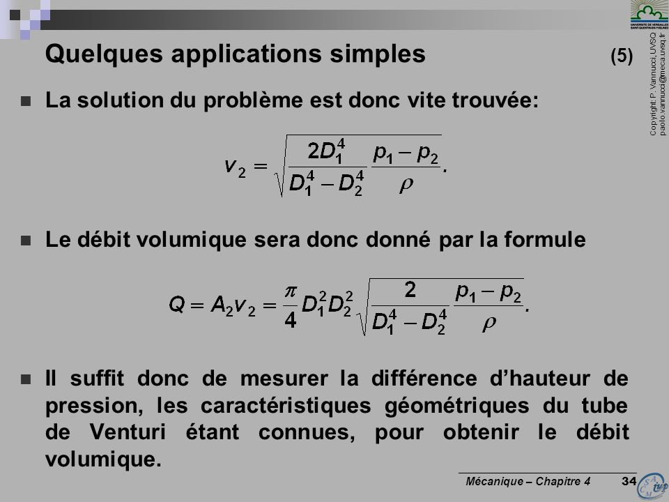 Quelques applications simples (5)